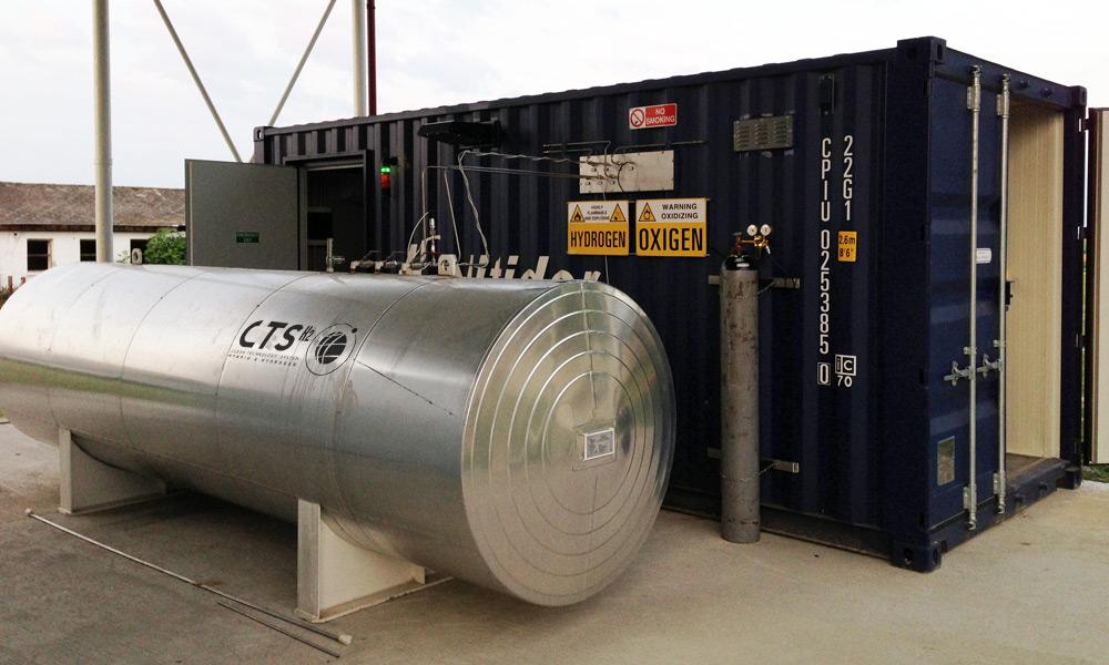 CTS H2 sostiene l'economia dell'idrogeno